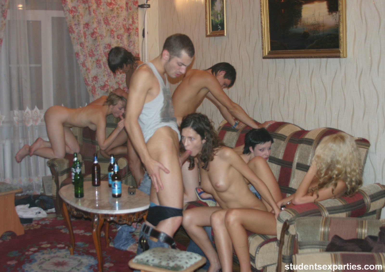 Nude coed sex party apologise, but
